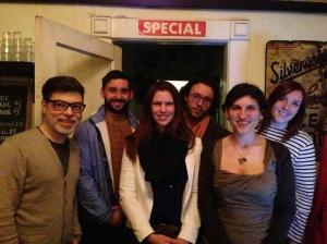L-R: Michael Thorner, Djordje Krstich, Kate Hodgson, Chris Ryan Graham, Marsha Shandur, Claire Farmer.