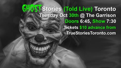 TST OCt GHOST stories 2018